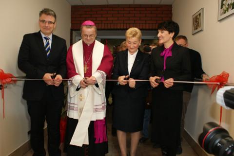 Ilustracja do informacji: Otwarcie nowej części Hospicjum w Zielonej Górze